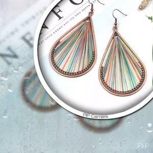 Jewelry - Multi-Colored Teardrop Earrings